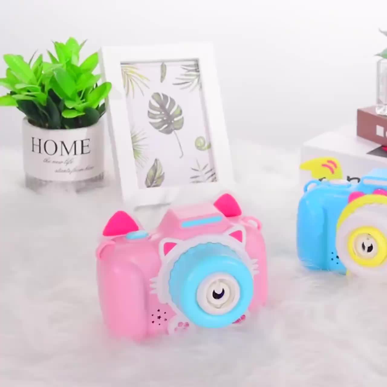 儿童玩具吹泡泡_泡泡照相机灯光音乐吹儿童泡泡相机玩具卡通电动泡泡枪厂家 ...
